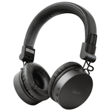 TRUST Tones Bluetooth Wireless Black ყურსასმენი