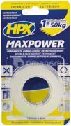 HPX ლენტი ორმხრივი გამჭვირვალე HPX Maxpower HT1902 2Mx19MM