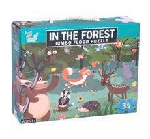 juniori Puzzle ფაზლი ტყე 35 ნაწილიანი