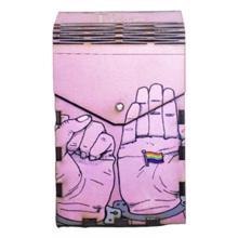 Tibox • ტიბოქს ხის ყუთი Rainbow flag