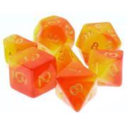 TASTY MINSTREL GAMES კამათელი 7-set Lava Shock Fusion YEORgd RPG Dice