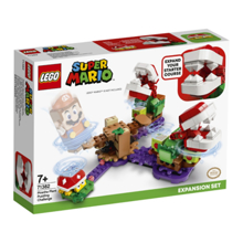 Lego Super Mario - Piranha Plant Puzzling Challenge Expansion Set კონსტრუქტორი