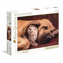 CLEMENTONI ფაზლი - ძაღლი და კატა