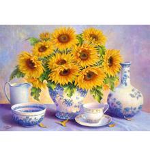 TREFL ფაზლი Sunflowers