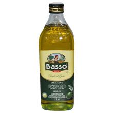 Basso - რაფინირებული + ცივი დაწურვის ზეითუნის ზეთი 1000მლ