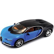 Maisto Mai-1:24 SP (B) - Bugatti Chiron ლითონის სათამაშო მანქანა