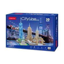 cubicfun 3D ფაზლი ნიუ იორკი