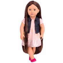 OUR GENERATION Doll Kaylin თოჯინა გრძელი თმით
