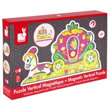 Janod magnetic Princess ხის მაგნიტური ფაზლი