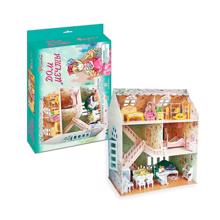 cubicfun 3D ფაზლი თოჯინების სახლი