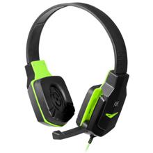 Defender Warhead G-320 Black+Green Gaming ყურსასმენი