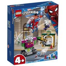 lego SUPER HEROES ადამიანი ობობა