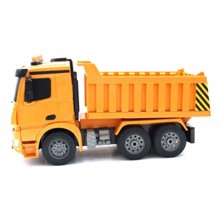 Doubleeagle დისტანციურად მართვადი მანქანა Mercedes-Benz Arocs Dump Truck