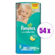1 შეკვრა ბავშვის საფენი Pampers 54 ც.