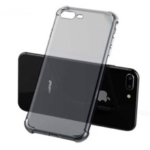UGREEN LP159 for iPhone 7 Plus/8 Plus Transparent Black ქეისი