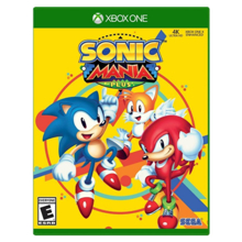 Microsoft Sonic Mania Plus ვიდეო თამაში