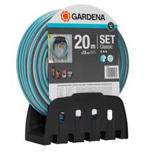 Gardena შლანგი Wall Wall Hose Bracket + 20m Classic Gardena