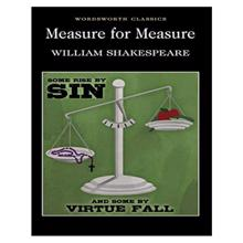 Measure for Measure,  Shakespeare. W.