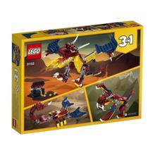 LEGO CREATOR-ცეცხლოვანი დრაკონი