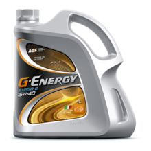 G-Energy ძრავის ზეთი Expert G 15W-40 4 ლ
