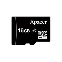 APACER 16GMCSH4-RA microSDHC Class4 16GB მეხსიერების ბარათი