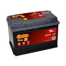 Centra აკუმულატორი Centra PLUS  CB741 74 A/h L DIN