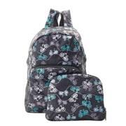 Eco Chic Black Bike Backpack - ჩანთა