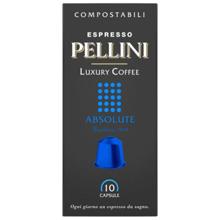Pellini ყავის კაფსულა Espresso Pellini Luxury Coffee Absolute in self-protected compostable Nespresso®* compatible capsules