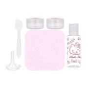 სამგზავრო ნაკრები (Hello Kitty)/Sanrio Hello Kitty Multipurpose Travel Box (With Facial Puff)