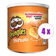 4 შეკვრა ჩიფსი Pringles წიწაკით 40გ