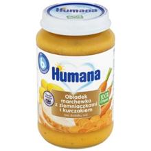 Humana პიურე კარტოფილით და ქათმით 190 გრ