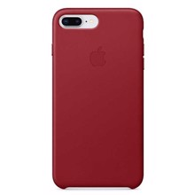 Apple Leather Case for iPhone 8/7 Plus Red ქეისი