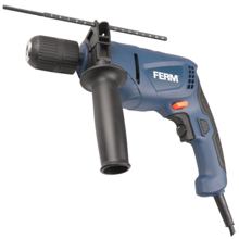 Ferm PDM1051 Impact drill 550W ელექტრო ბურღი (დარტყმითი)
