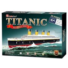 cubicfun Titanic Small - 3D ფაზლი