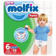 Molfix ბავშვის საფენი N6 #19