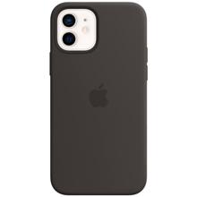Apple iPhone 12/12 Pro Silicone Case with MagSafe Black მობილურის ქეისი