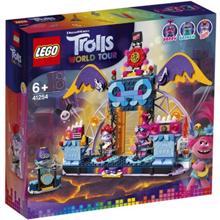 lego TROLLS ვულკანის როკ კონცერტი
