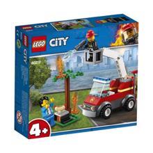 LEGO  CITY ხანძარი პიკნიკზე