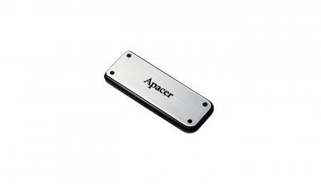 BD Comp USB ფლეშ მეხსიერება APACER AH328 32GB USB2.0 (AP32GAH328S-1) Silver