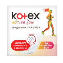 kotex ყოველდღიური საფენი
