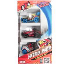 Maisto NXS Racer 3 Pack სათამაშოების ნაკრები