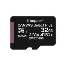 KINGSTON Canvas Select Plus 32GB მეხსიერების ბარათი