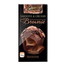 Barambo Export შოკოლადის ფილა ბრაუნი 110 გრ