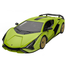 Rastar მანქანა ასაწყობი,  დისტანციური მართვით Lamborghini Sian Building Kit 1:18