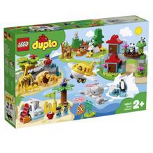LEGO DUPLO მსოფლიო ცხოველები