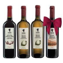 გლეხური 3+1 ღვინის ნაკრები