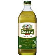 """Basso - ზეითუნის ზეთი - """"ექსტრა ვირჯინი"""" 1000 მლ"""