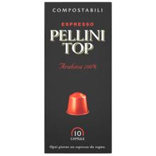 Pellini ყავის კაფსულა Espresso Pellini Top Arabica 100% in self-protected compostable Nespresso®* compatible capsules