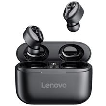 Lenovo HT18 Bluetooth Earphone Black მობილურის ყურსასმენი