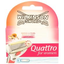"""Wilkinson - საპარსის პირი კვადრო """"ვუმენი""""  3 ცალი"""